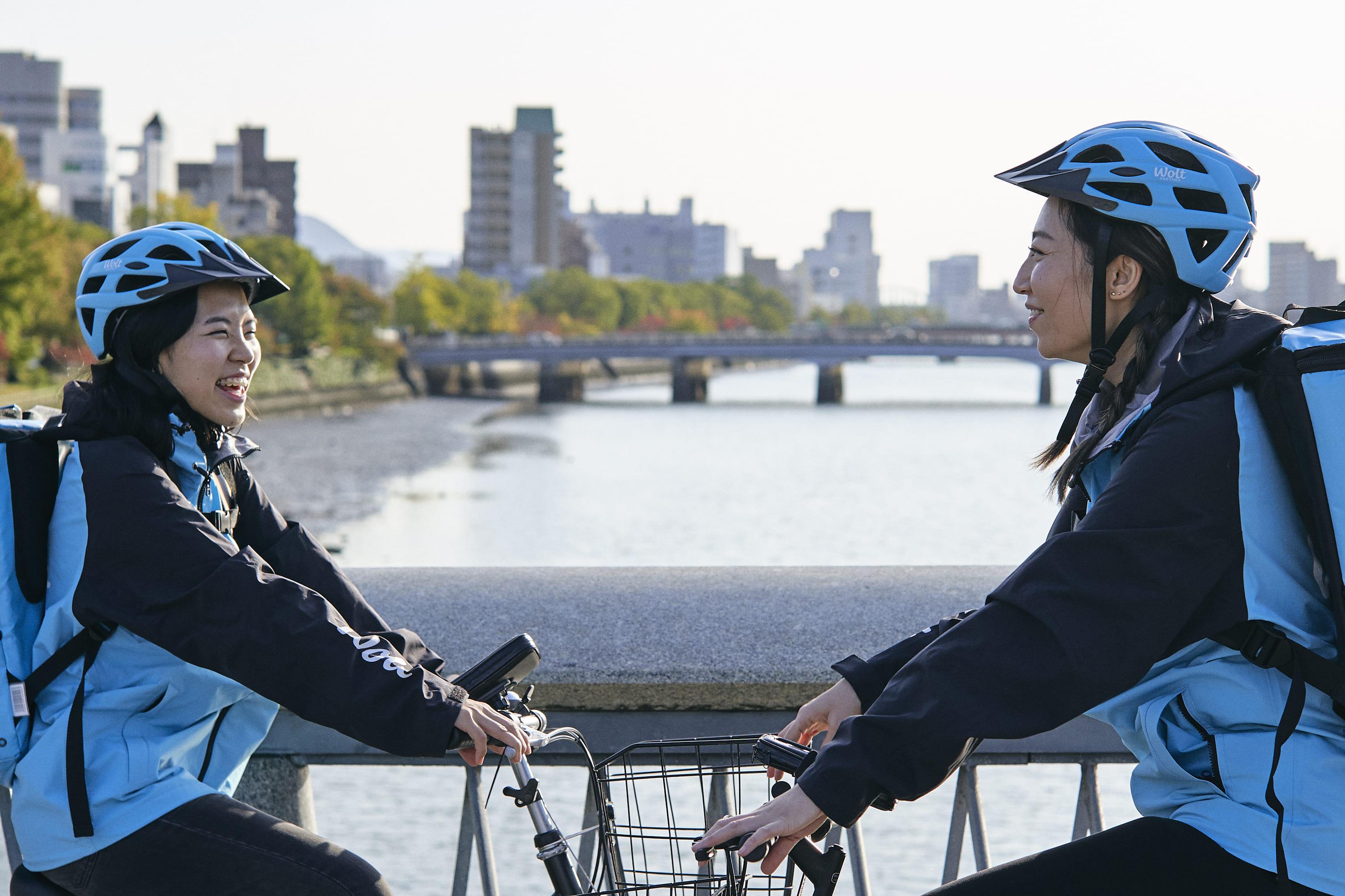 Wolt Japan株式会社 東京/荒川遊園地前駅周辺エリアの求人画像