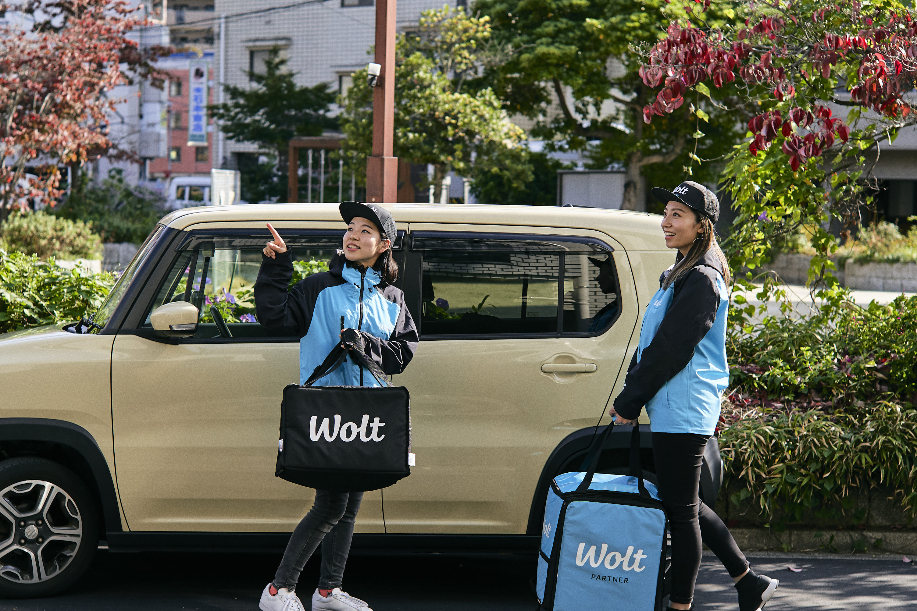 Wolt Japan株式会社 函館/五稜郭公園前駅周辺エリアの求人画像